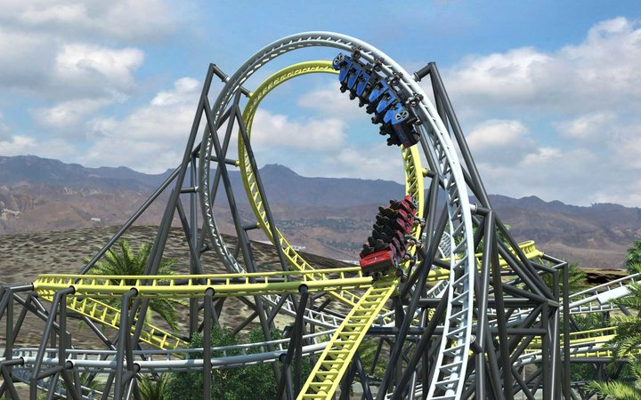 West Coast Racer Six Flags Magic Mountain Rides 2019
