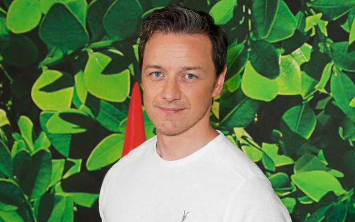 James McAvoy attends the Family Gala Screening of  Sherlock Gnomes