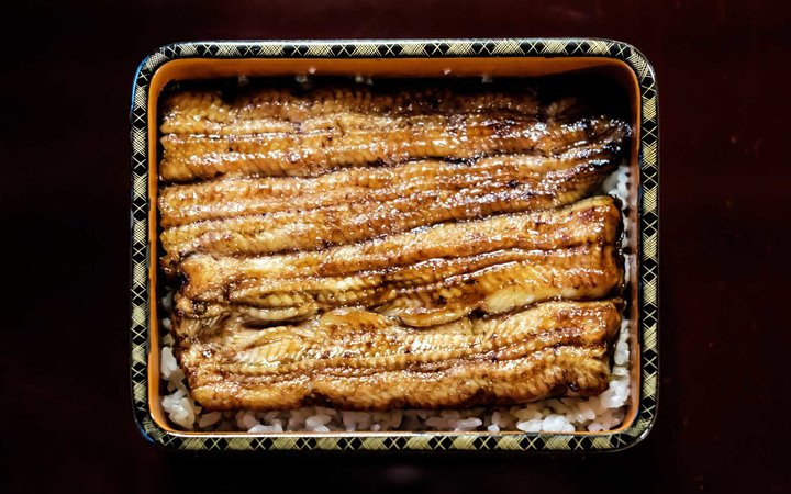 Grilled unagi -- or eel -- in Japan