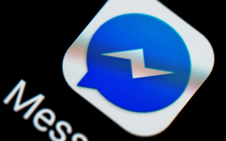 The Facebook Messenger logo seen displayed on a smart phone