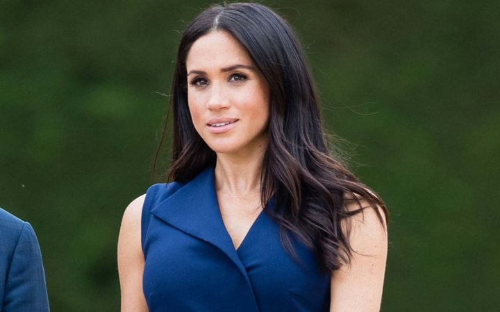 Meghan, Duchess of Sussex attends a Reception hosted by the Honourable Linda Dessau AC, Governor of Victoria and Mr. Anthony Howard QC