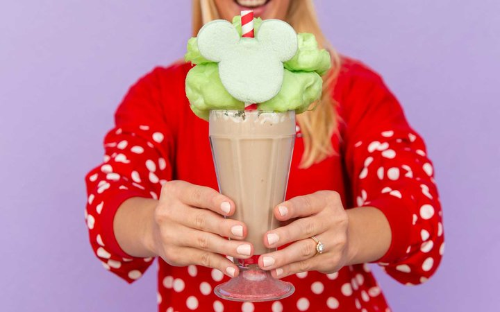 Disney Mickey Christmas Milkshake