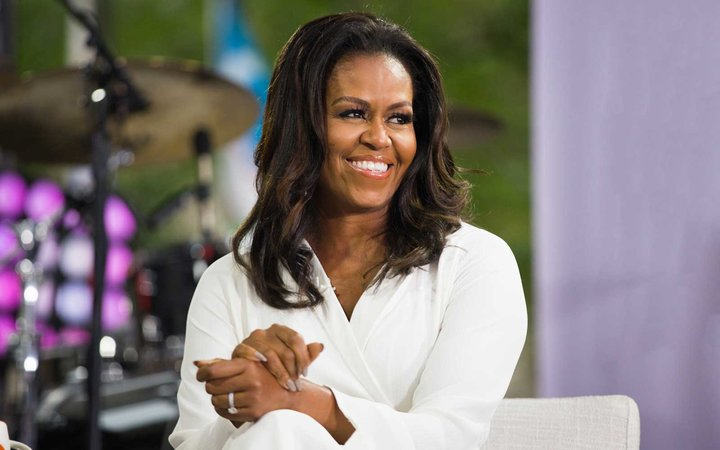 Michelle Obama appears on the Today show in fall of 2018