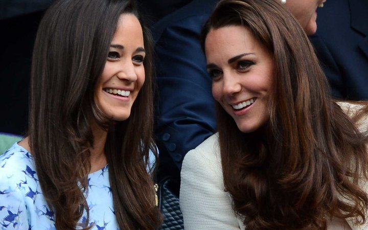 Sisters, Pippa and Kate Middleton