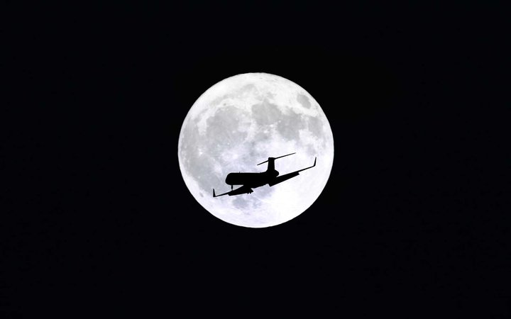 February Full Moon - Super Snow Moon