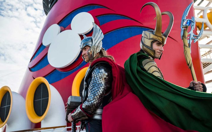 Disney's New Cruise Ship and Marvel Characters