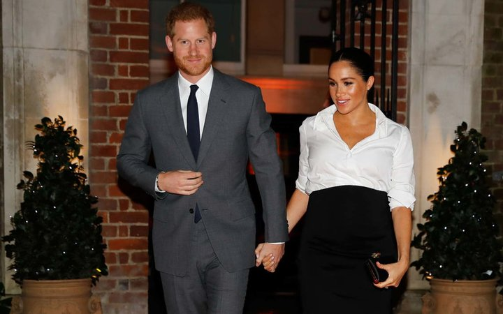 Prince Harry, Duke of Sussex and Meghan, Duchess of Sussex attend the Endeavour Fund awards at Drapers' Hall