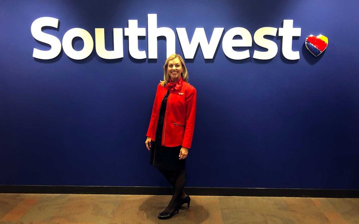Shari Rood, Southwest Airlines Flight Attendant