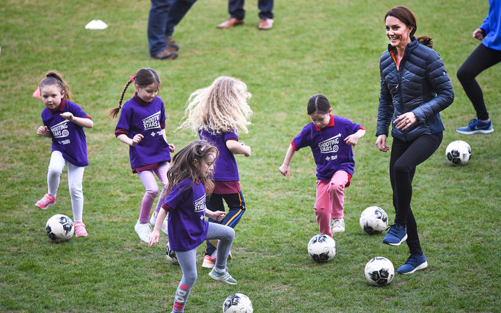 kate middleton soccer ireland