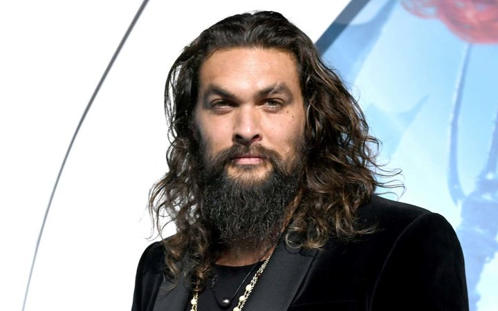 Jason Momoa arrives at the premiere of Warner Bros. Pictures'  Aquaman  at the Chinese Theatre