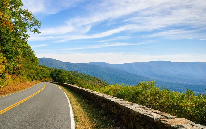 Shenandoah National Park, Virginia, Skyline Drive