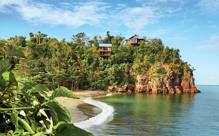 Vilas at Secret Bay luxury resort in Dominica