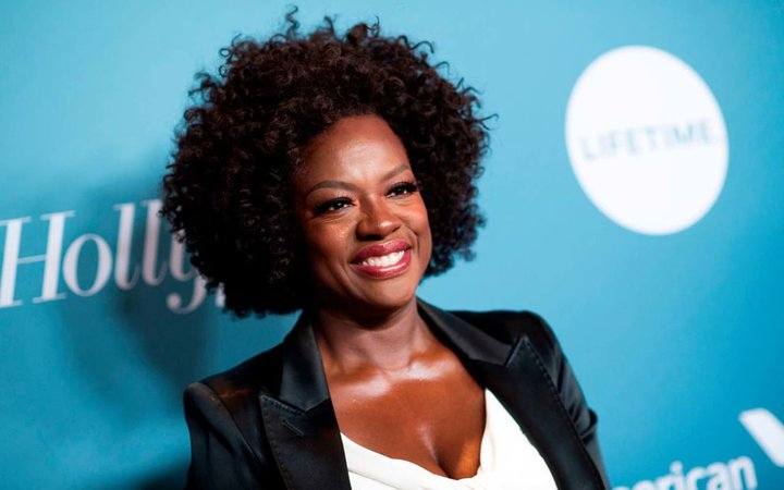 Actress Viola Davis attends The Hollywood Reporter's Power 100 Women In Entertainment at Milk Studios