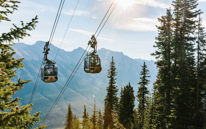 Banff Gondola, Mount Royal