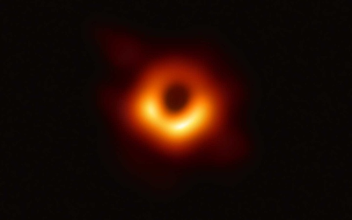 First image ever captured of a Black Hole