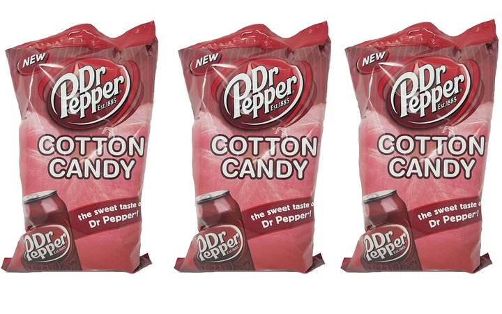 Dr. Pepper Cotton Candy