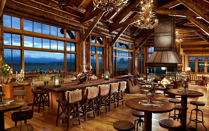 Best Resorts in the American West, as voted by the readers of Travel + Leisure magazine (shown: Brush Creek Ranch)