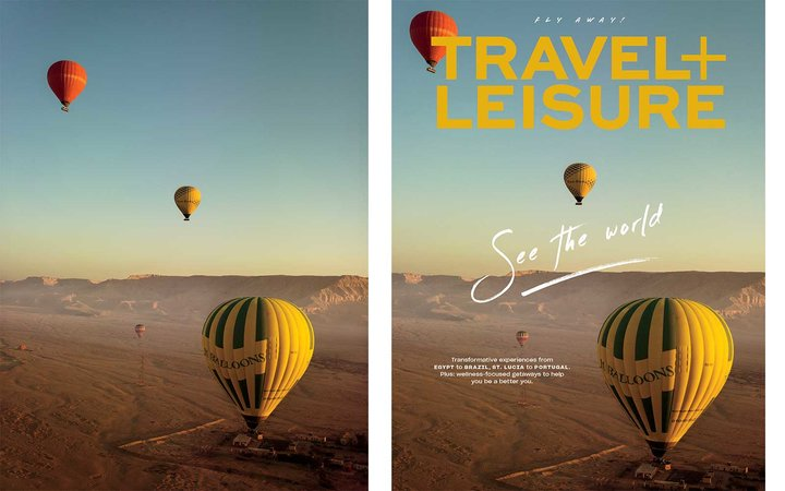 Travel + Leisure June 2019 Subscriber cover (Egypt)