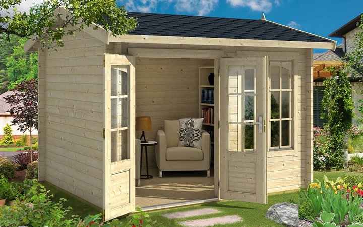 Whole Woods Cabins Concord 76-Square-Foot Kit