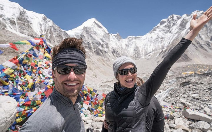 Mandy Moore Made it to Mt. Everest Base Camp