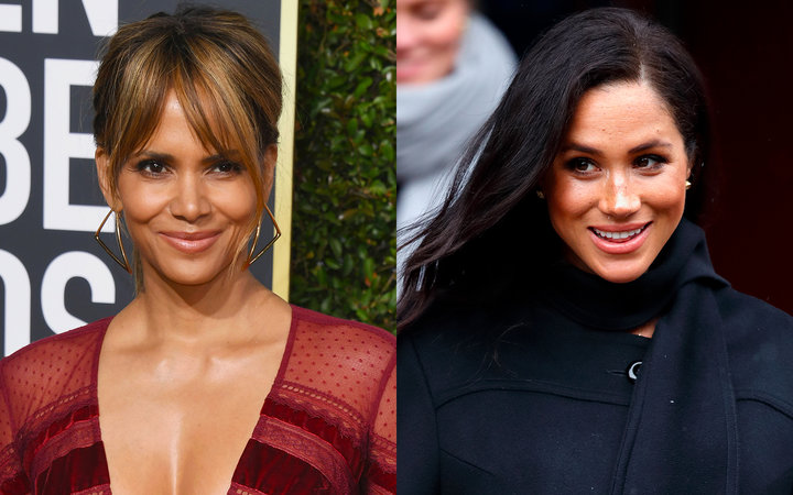 Halle Berry and Meghan Markle