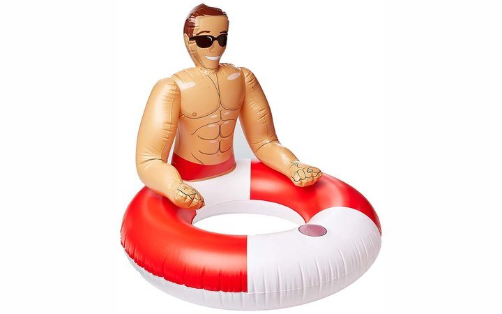 NPW Pool Float, Inflatable Hunk