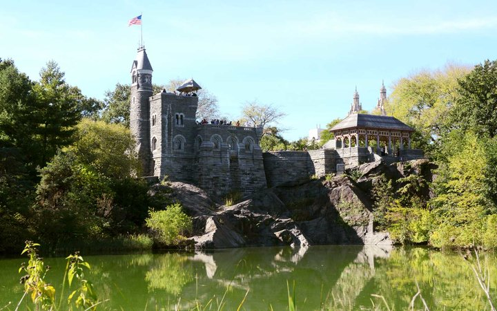 Belvedere Castle in Central Park, New York City