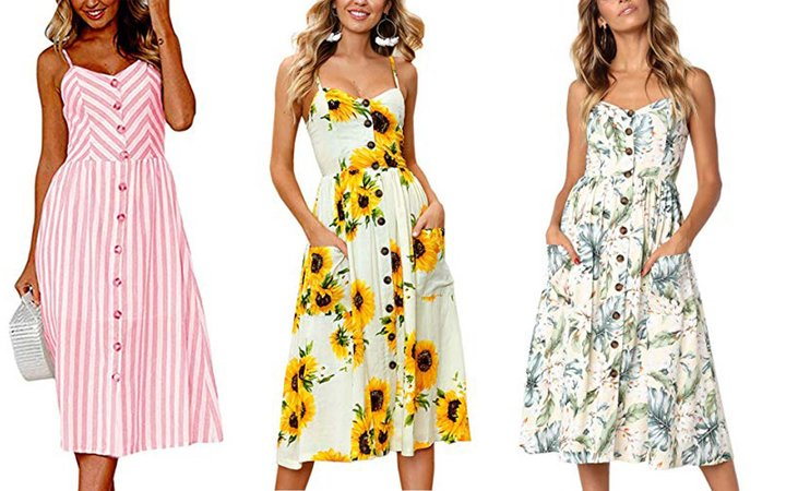 Amazon Shoppers Have Officially Crowned This $22 Sundress the 'Perfect Summer Dress'