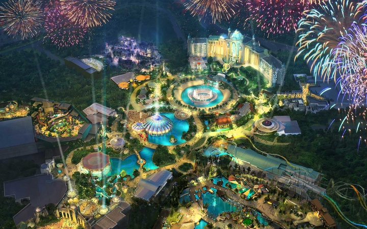 Universal Orlando Epic Universe Theme Park Concept Rendering