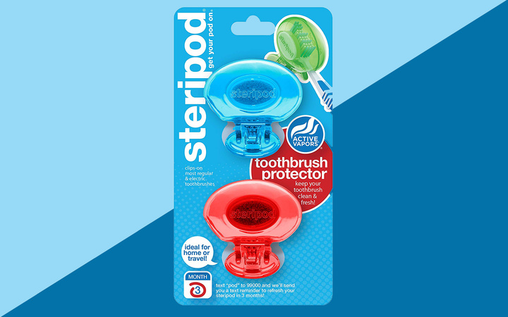 Steripod Toothbrush Protector Amazon