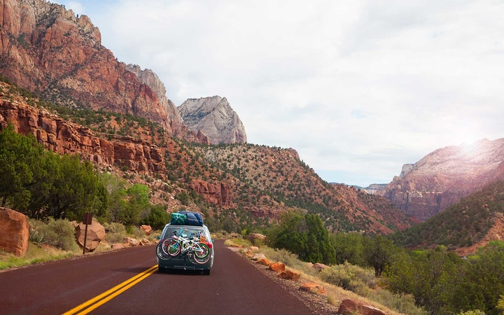 Summer road trip in Utah