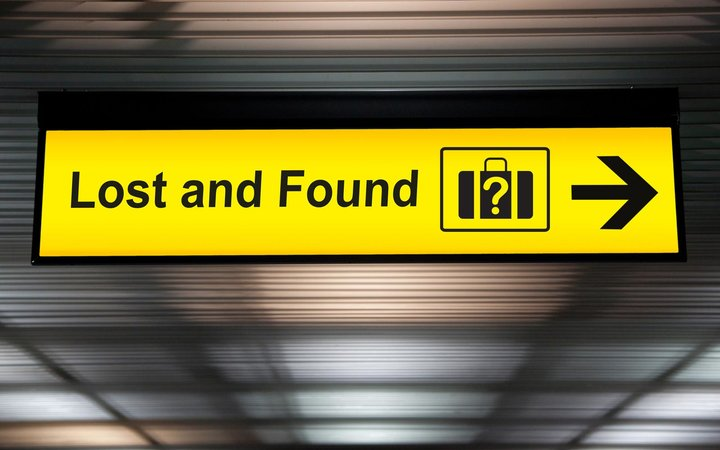 Airport lost and found