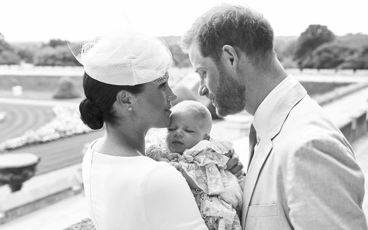 Prince Harry, Meghan Markle, and Archie