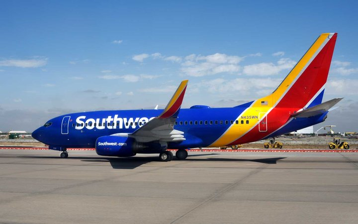 Southwest Airlines selling peanuts