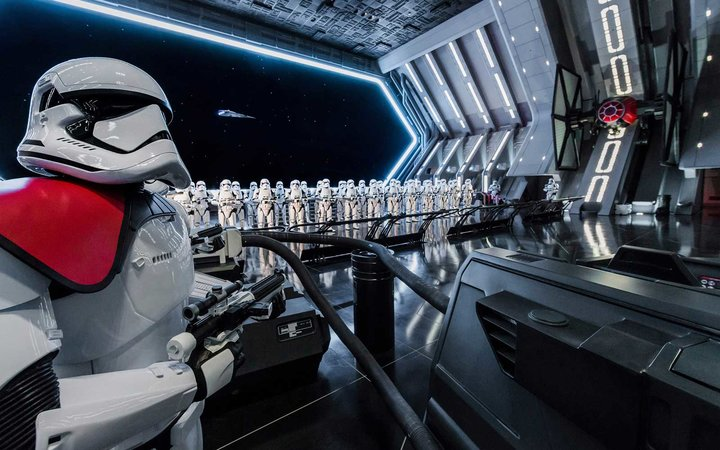 Rise of the Resistance: Disney's New Star Wars Ride