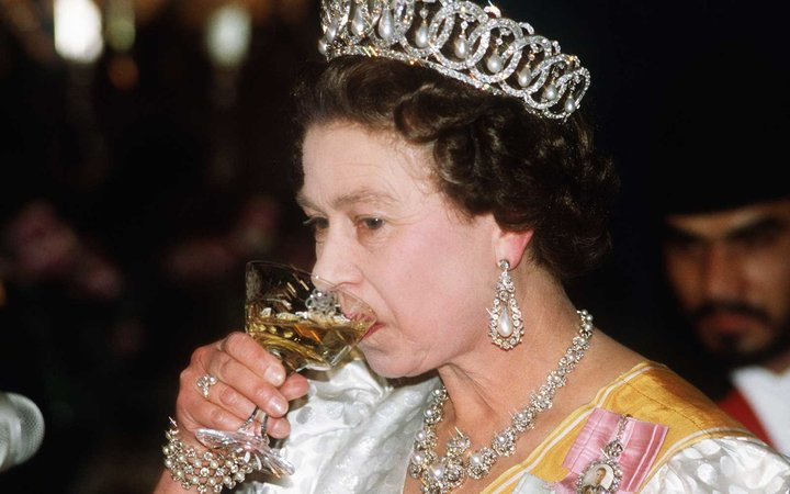 Queen Elizabeth II in 1986