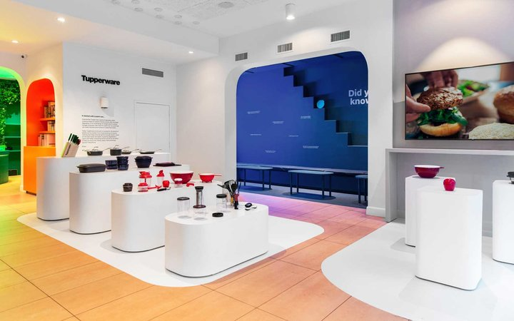 Tupperware Soho Store