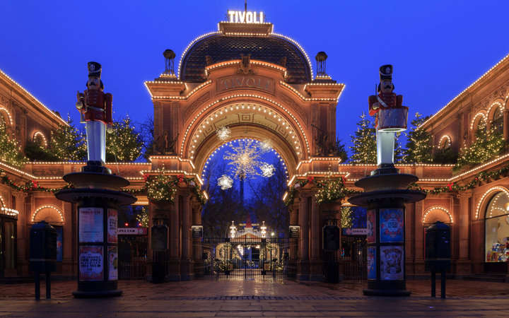 Christmas at Tivoli Gardens