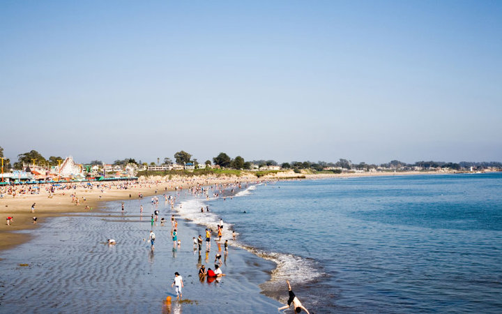 America's Best Little Beach Towns: Santa Cruz