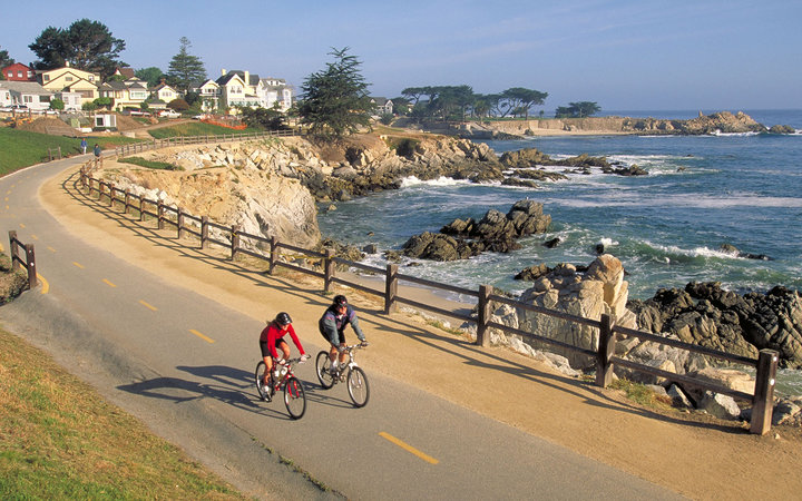 Pacific Grove, California small beach towns