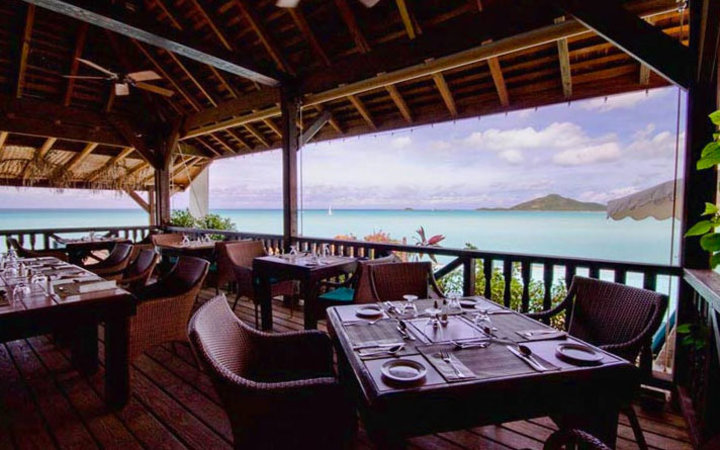 ocean view in CoCo Bay Resort, Antigua