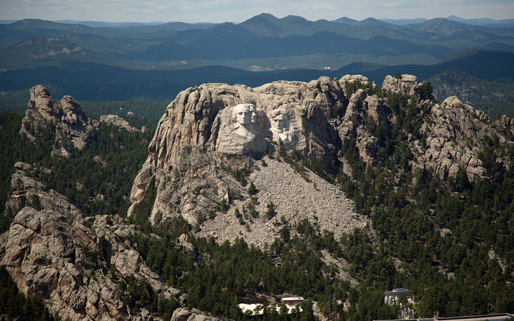 Mount Rushmore National Memorial, Keystone, SD