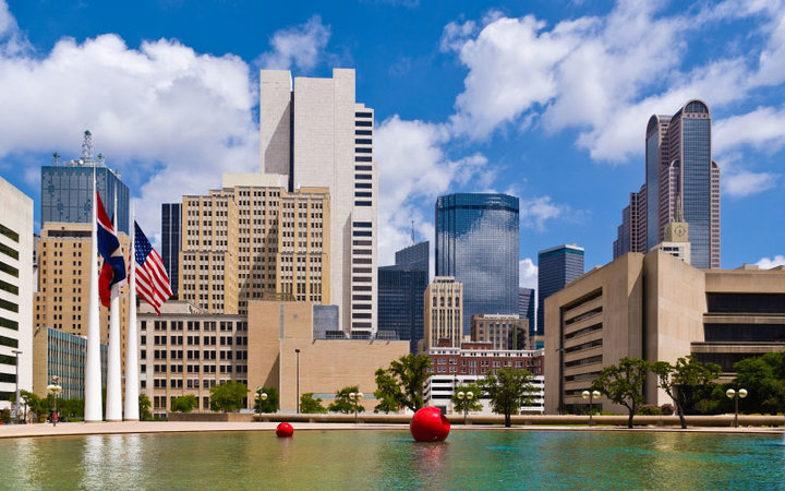 skyline of Dallas/Fort Worth, Texas