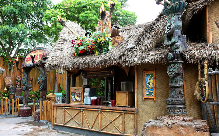 Enchanted Tiki Room in Adventureland, Disneyland