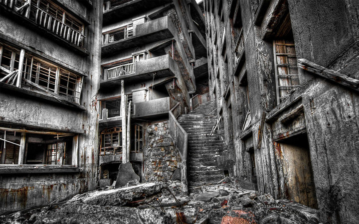 stairway to hell hashima island japan world s scariest stairs