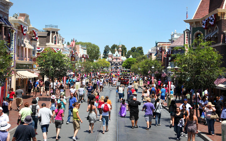 World's Most-Visited Tourist Attractions: Disneyland Park, Anaheim, CA