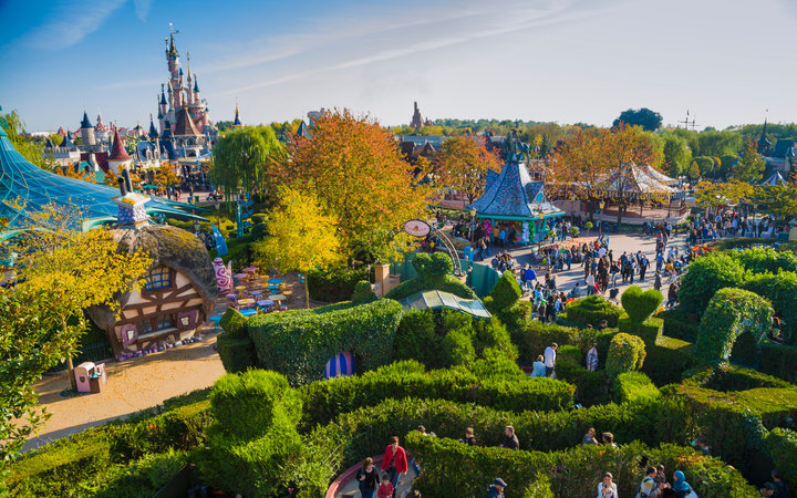World's Most-Visited Tourist Attractions: Disneyland Park, Marne-la-Vallée, France