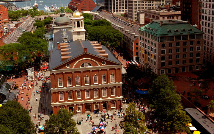 World's Most-Visited Tourist Attractions: Faneuil Hall Marketplace, Boston