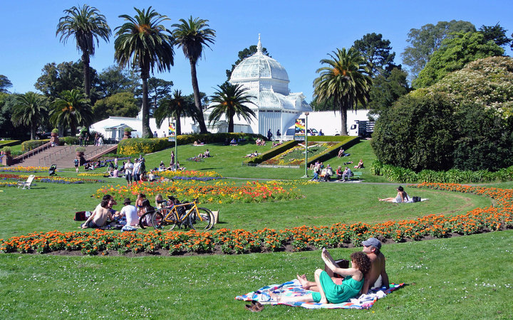World's Most-Visited Tourist Attractions: Golden Gate Park, San Francisco