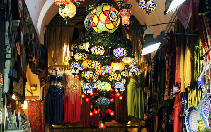 World's Most-Visited Tourist Attractions: Grand Bazaar, Istanbul